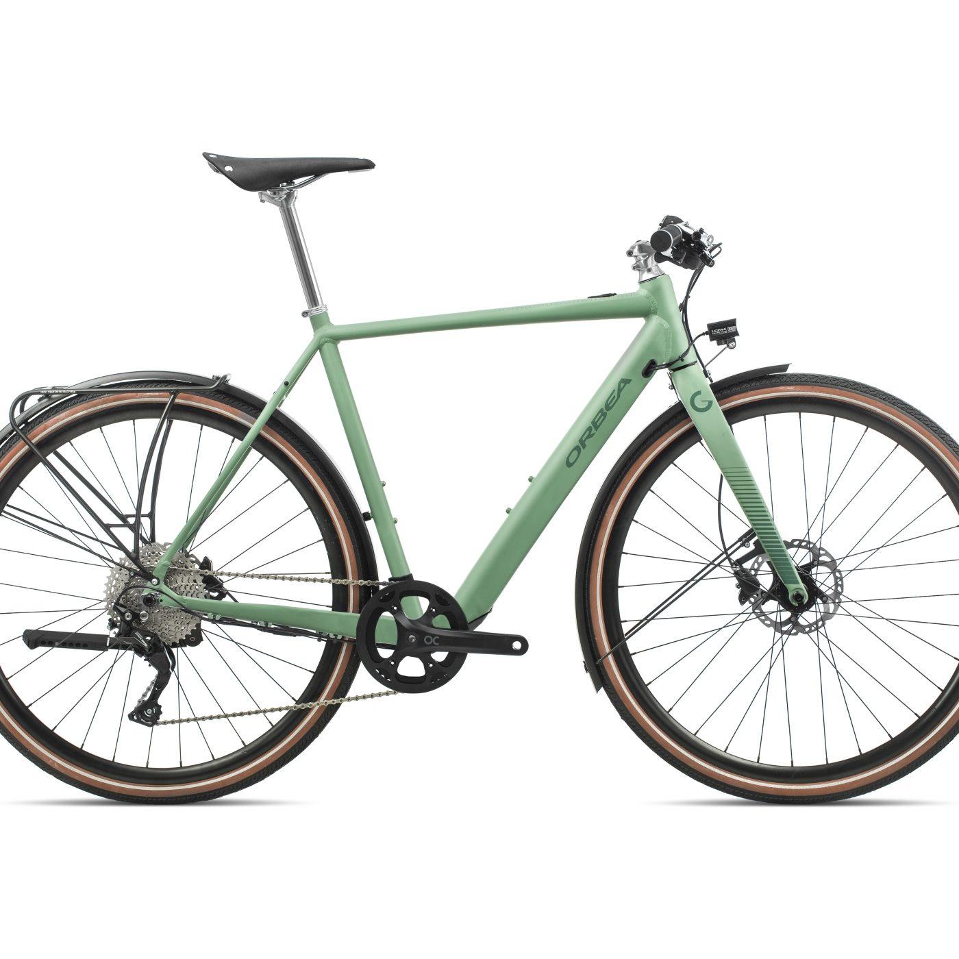 Orbea Gain F10 - Groen (Dof-Gloss)