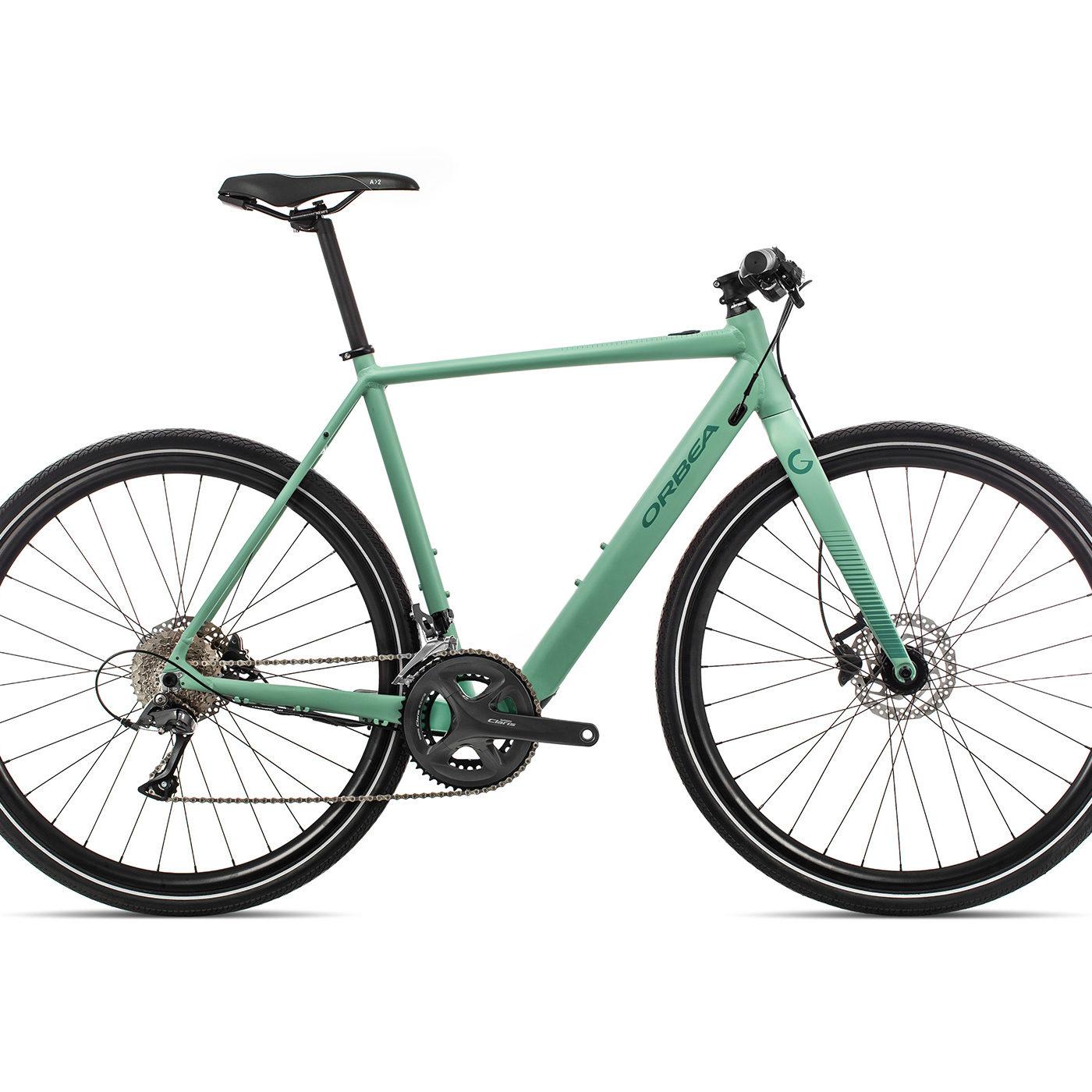 Orbea Gain F30 - Groen (Dof-Gloss)